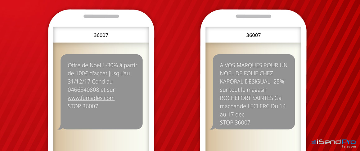 Campagne sms marketing de noel - Proposer des offres attractives