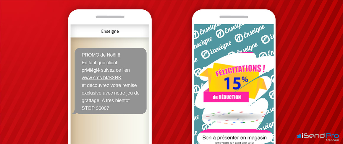 Campagne sms marketing de noel - Être original