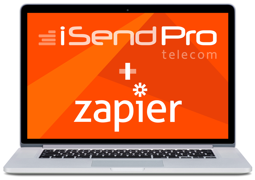 app iSendPro Telecom sur Zapier pour vos campagnes SMS Marketing et notifications SMS